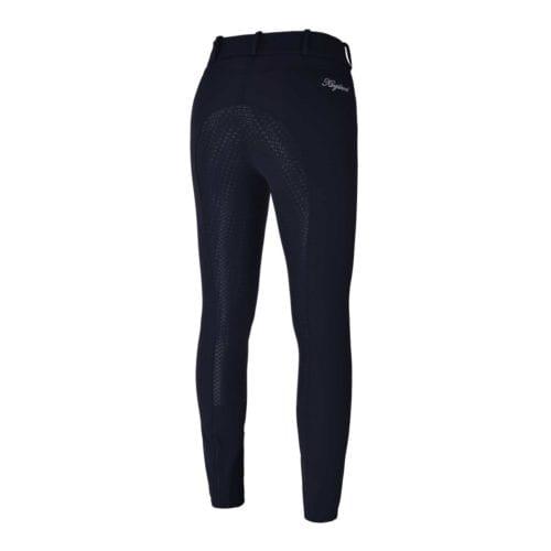 Pantalones full-grip azul marino para mujero modelo Kadi de Kingsland