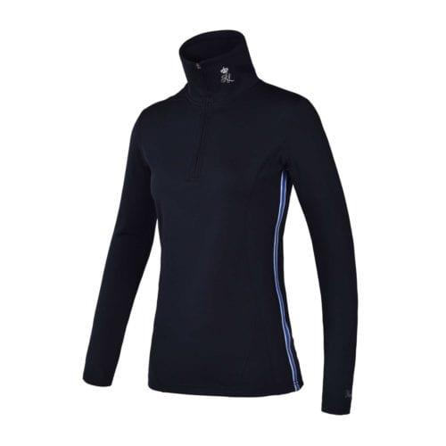 Camiseta de entrenamiento azul marina para mujer modelo Lotaki de Kingsland