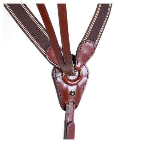 Breastplate BR Taunton elastic w/martingale