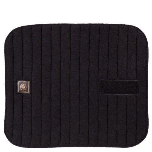 Pack de 4 paños coolmax con velcro para vendas de trabajo Color Negro de BR