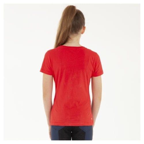 Camiseta de caballo para niña modelo ATK191301 Color Rojo de Anky