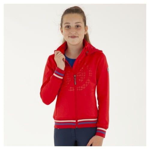 Chaqueta para niña modelo ATK191101 Technostretch Color Rojo de Anky