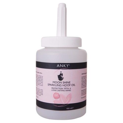 Aceite para cascos con destellos plateados ATQ031(silver)450ml. De Anky