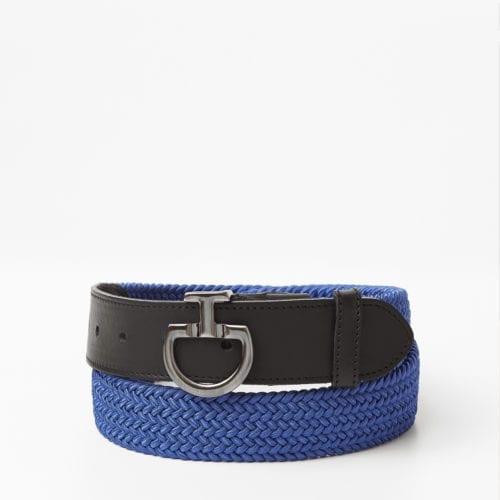 Cinturón elástico para mujer modelo Clasp Color Azul de Cavalleria Toscana