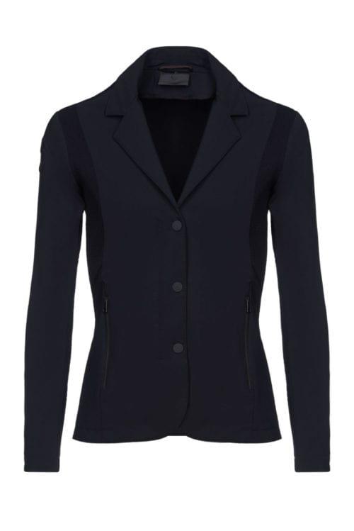 Americana de tejido técnico de la colección Revolution color negra para niña de Cavalleria Toscana