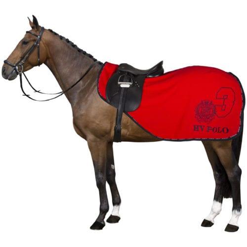 Manta riñonera polar roja modelo Favouritas de HV-Polo