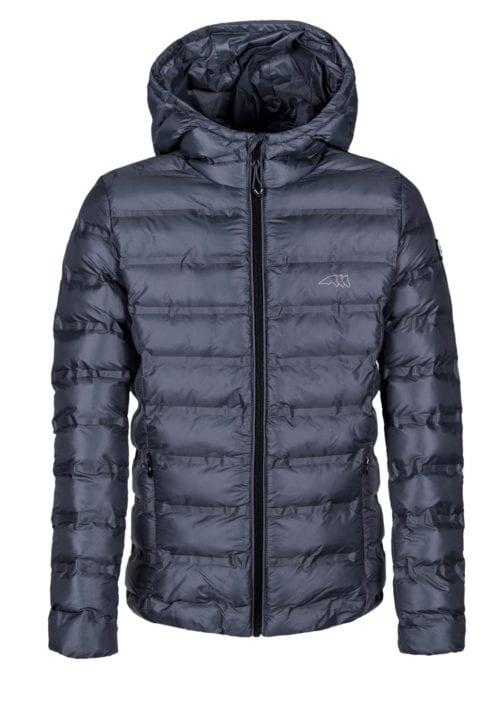 Abrigo ligero tipo bómber azul marino junior modelo Sven de Equiline