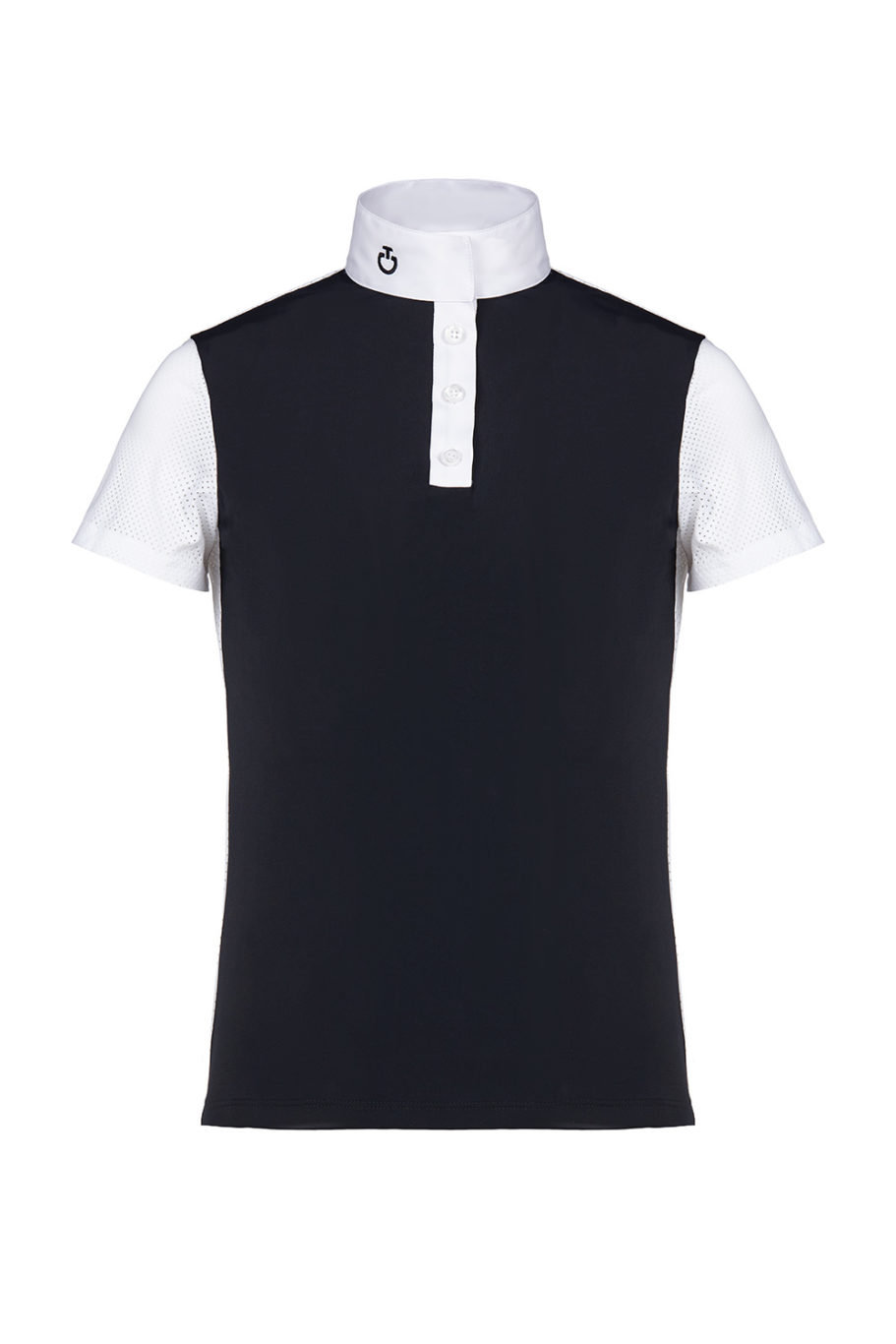 PERFORATED JERSEY S/S POLO