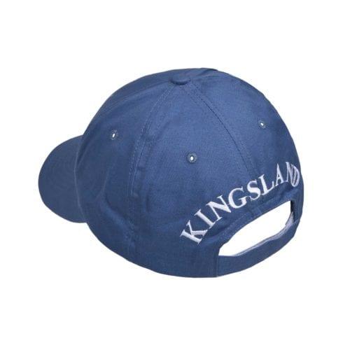 Gorra unisex azul con logo azul marino modelo KLargus de Kingsland