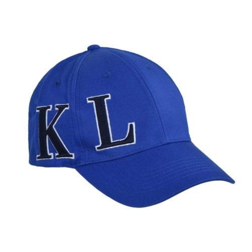 Gorra unisex azul royal con logo azul marino modelo KLargus de Kingsland