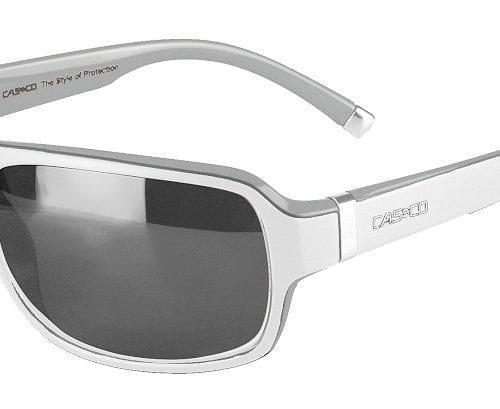 Gafas de sol deportivas blancas y plateadas unisex modelo SX-61 Bicolor de Casco