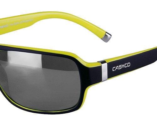 Gafas de sol deportivas negras y amarillas unisex modelo SX-61 Bicolor de Casco
