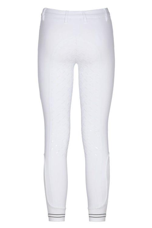 Pantalones blancos full grip junior modelo Perforated Logo Tape de Cavalleria Toscana