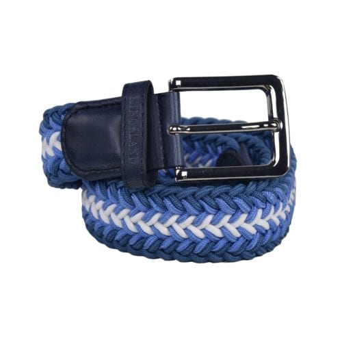 Cinturón elástico azul unisex modelo Talios de Kingsland