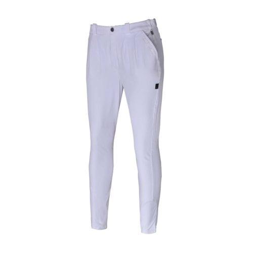 Pantalones con grip en las rodillas blancos para hombre modelo KLkarlos de Kingsland