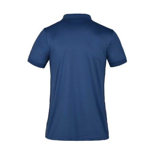 Polo técnico azul para hombre modelo KLugo de Kingsland