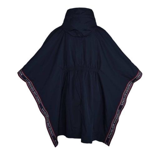 Poncho para lluvia azul marino para mujer modelo KLblair de Kingsland