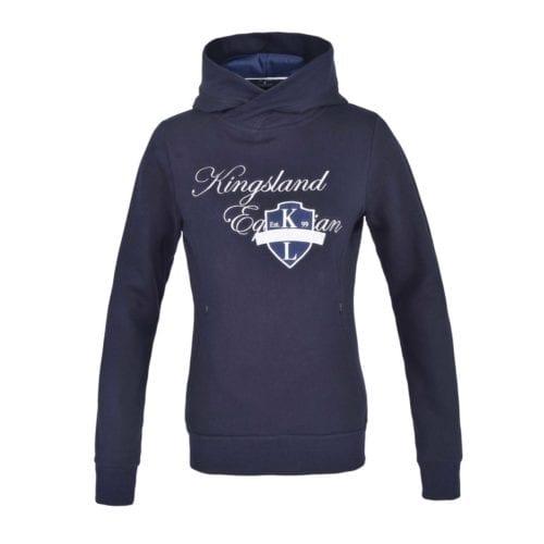 Sudadera con capucha para mujer azul marina modelo KLdeanna de Kingsland