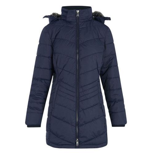 Abrigo con capucha azul marino modelo Darcy de HV Polo.