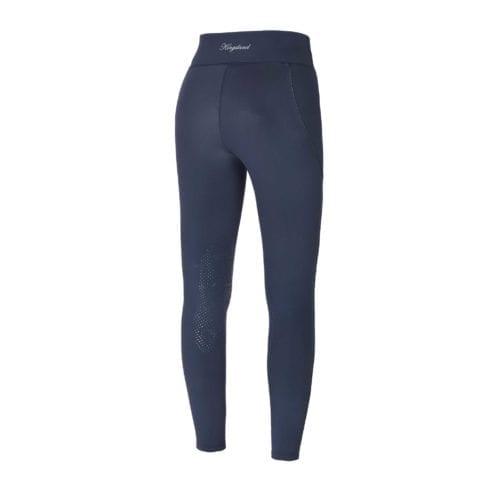 Mallas de invierno azul marino con grip en las rodillas modelo KLkatinka de Kingsland