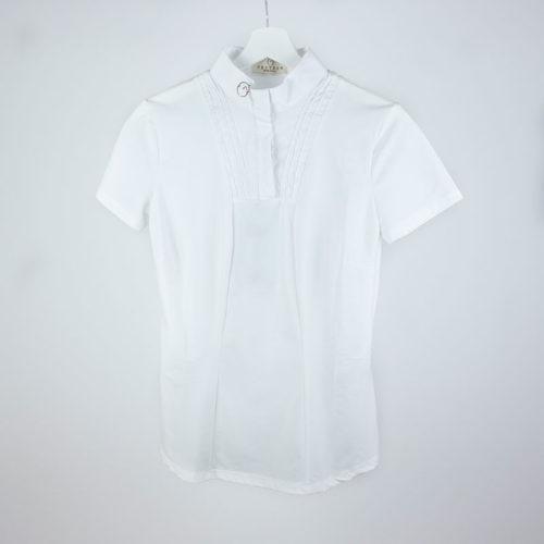 Polo blanco de manga corta modelo Marbella de Vestrum.