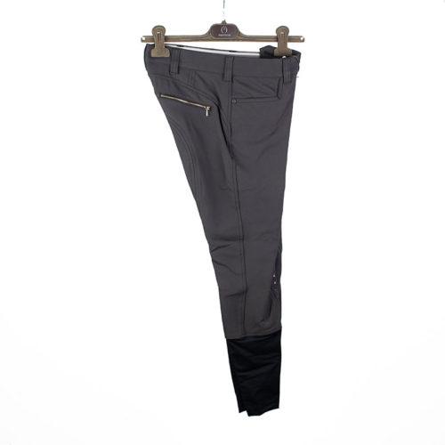Pantalones de competición marrón oscuro (grip rodilla) modelo Parigi de Vestrum.