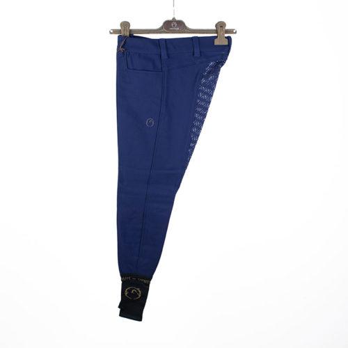 Pantalones de competición azulón (grip completo) modelo Wismar de Vestrum.