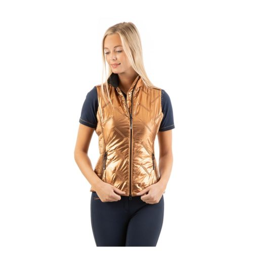 ANKY Quilted Waistcoat ATC211001 - Copper