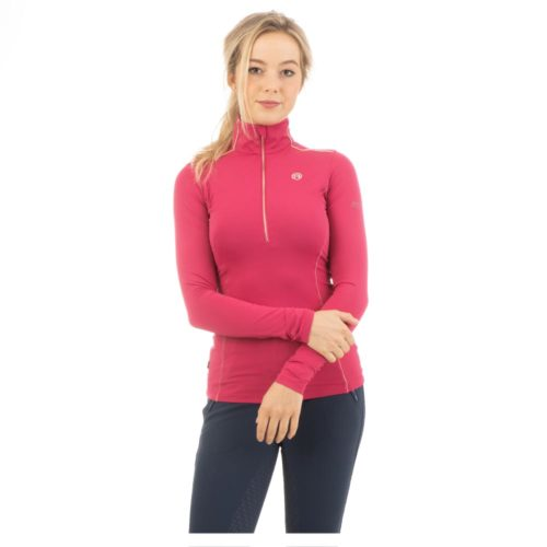 ANKY Pullover half zip ATC202303 - Fuchsia Red