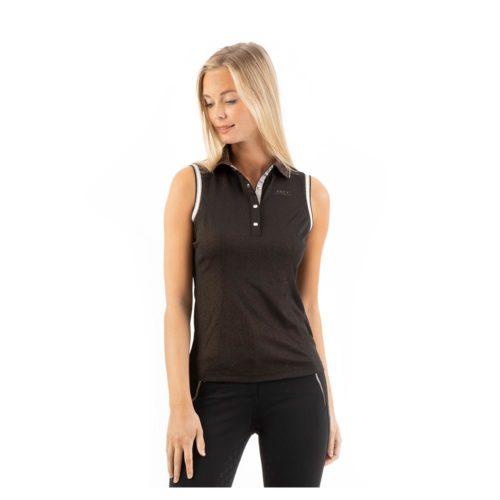 ANKY Poloshirt sleeveless ATC211202 - Black
